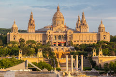MNAC Museum Barcelona Royalty Free Stock Photo