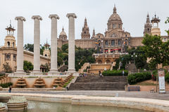 MNAC Museum Barcelona Royalty Free Stock Photography