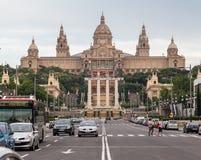 MNAC Museum Barcelona Stock Photo