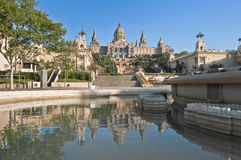 MNAC Museum at Barcelona, Spain Stock Photography
