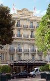 Mónaco - ermita del hotel Imagen de archivo libre de regalías