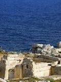 mnajdra świątyni Zdjęcie Stock