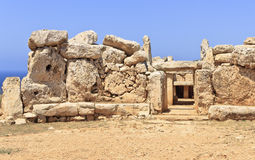 Mnajdra Photo stock