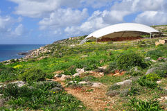 Mnajdra archaeological site,Malta Royalty Free Stock Photos