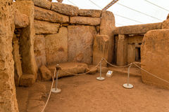 Mnajdra Temple Chamber Royalty Free Stock Photo