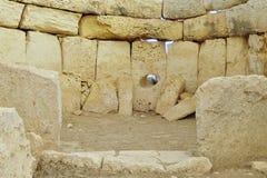 Mnajdra temple,Malta Royalty Free Stock Image