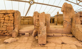 Mnajdra Temple Royalty Free Stock Image