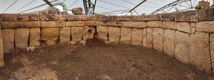 Mnajdra temples on malta Stock Photography