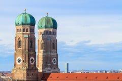 München, Frauenkirche, Beieren Stock Afbeelding