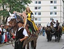 Münchner Kindl at Oktoberfest Royalty Free Stock Images
