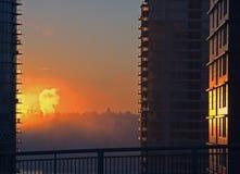 Måndag morgon Arkivfoton