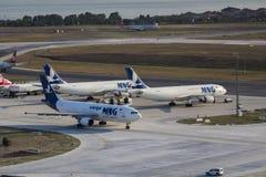 MNG ładunku linie lotnicze Zdjęcie Royalty Free