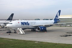 MNG Cargo Airlines Royalty Free Stock Images