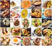 Många sort av olik mat Royaltyfri Bild