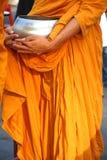 Mnichów buddyjskich datków puchar, Tajlandia Zdjęcie Royalty Free