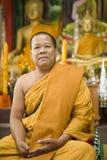 mnich buddyjski obraz stock
