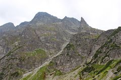 Mnich mountain in Polish Tatras Stock Photos