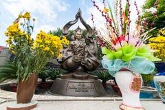 Mnicha buddyjskiego Thich Quan Duc pomnika zabytek chi ho minh Vietnam Zdjęcie Royalty Free