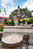 Mnicha buddyjskiego Thich Quan Duc pomnika zabytek Ho Chi Minh (Sai Zdjęcia Stock