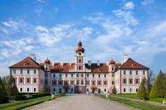 Mnichovo Hradiste slott, bohemiskt paradis, Bohemia, Tjeckien, Europa Arkivfoto