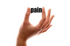 Mniej bólu zdjęcie stock
