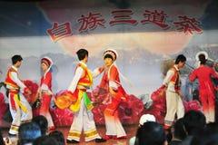 Mniejszość etniczna taniec zdjęcie stock