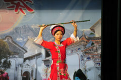 Mniejszość etniczna taniec zdjęcie royalty free