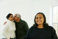 mniejszość rodzinna obraz stock