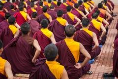 mnisi buddyjscy Zdjęcia Royalty Free
