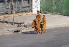 mnisi buddyjscy Zdjęcie Stock