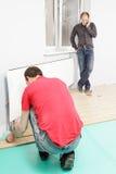 Männer bei der Arbeit Stockfotografie