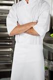 Männlicher Chef Standing With Arms kreuzte Lizenzfreies Stockbild