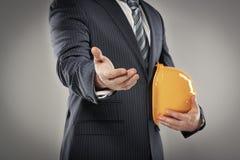 Männlicher Ingenieur Lizenzfreies Stockfoto