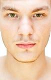 Männliches Gesicht Stockfoto