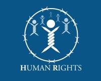 Mänsklig rättighet Arkivfoto