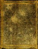 mönstrat gammalt papper Royaltyfria Bilder