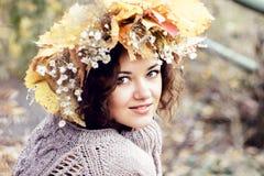 Moça bonita Fotografia de Stock