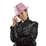 Moça com chapéu Foto de Stock Royalty Free
