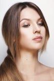 Moça com pele saudável Imagens de Stock