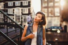 Moça do retrato, Imagens de Stock