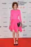 Moët British Independent Film Awards 2014. LONDON, ENGLAND - DECEMBER 07: Eleanor Tomlinson attends the Moet British Independent Film Awards 2014 at Old royalty free stock image
