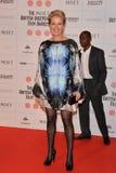 Moët British Independent Film Awards 2014. LONDON, ENGLAND - DECEMBER 07: Emma Thompson attends the Moet British Independent Film Awards 2014 at Old stock photography