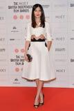 Moët British Independent Film Awards 2014. LONDON, ENGLAND - DECEMBER 07: Gemma Chan attends the Moet British Independent Film Awards 2014 at Old Billingsgate stock images