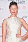 Moët British Independent Film Awards 2014. LONDON, ENGLAND - DECEMBER 07: Gugu Mbatha-Raw attends the Moet British Independent Film Awards 2014 at Old royalty free stock photo