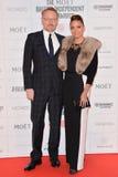 Moët British Independent Film Awards 2014. LONDON, ENGLAND - DECEMBER 07: Jared Harris and guest attends the Moet British Independent Film Awards 2014 at Old stock photo