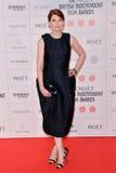 Moët British Independent Film Awards 2014. LONDON, ENGLAND - DECEMBER 07: Jodie Whittaker attends the Moet British Independent Film Awards 2014 at Old royalty free stock photos
