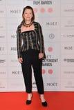 Moët British Independent Film Awards 2014. LONDON, ENGLAND - DECEMBER 07: Lesley Manville attends the Moet British Independent Film Awards 2014 at Old stock photography