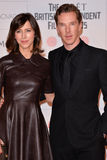 Moët British Independent Film Awards 2014. LONDON, ENGLAND - DECEMBER 07:  Sophie Hunter; Benedict Cumberbatch attends the Moet British Independent Film Awards Royalty Free Stock Images