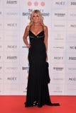 Moët British Independent Film Awards 2014. LONDON, ENGLAND - DECEMBER 07: Tiziana Rocca attends the Moet British Independent Film Awards 2014 at Old royalty free stock image