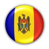 Mołdawia bandery ilustracja wektor